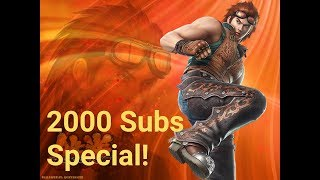 Tekken 7 Hwoarang combo video 2000 subs special!