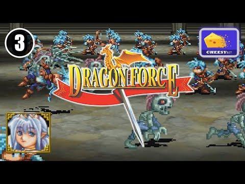 1/4: Dragon Force (Teiris) - Sega Saturn : (3 of 21) HD60