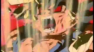 Goku virando macaco dourado em Português .wmv