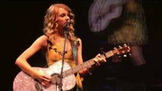 Taylor Swift Performs Love Story live acoustic guitar