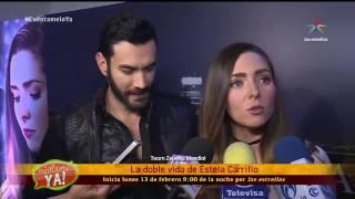 """Se llevó a cabo la presentación de la telenovela """"La Doble Vida de Estela Carrillo"""""""