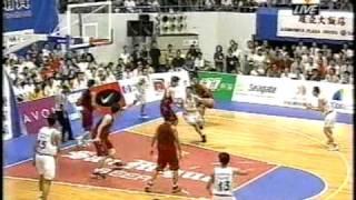 籃球博士鄭志龍經典賽事.1998 21屆威廉瓊斯盃決賽資格賽,中華vs日本.Part 5