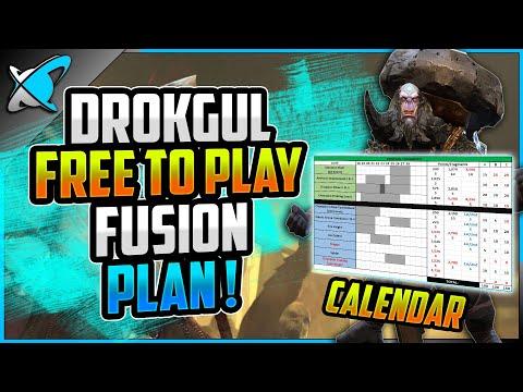 "Drokgul ""FREE TO PLAY"" Fusion Plan !! | Full Calendar Breakdown! | Raid: Shadow Legends"