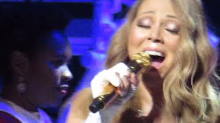 Mariah Carey Epic Vocal of Joy To The World Intro Showcase 2014 Live in Beacon Theater Dec 20