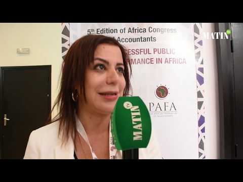Video : ACOA 2019 : Déclaration de Leila El Andaloussi, présidente de la commission communication à l'Ordre des Experts-Comptables