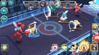 El poder del Pokemon de la creación