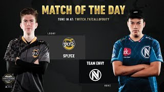 Splyce vs Team Envy | CWL Pro League 2019 | Division B | Week 3 | Day 3
