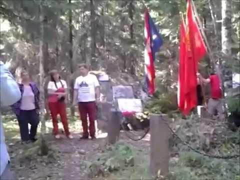 KTP ja SFT Neuvostolentäjien Muistomerkillä 2014