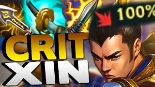 100% CRIT XIN JUNGLE! HIGHEST BURST DAMAGE EVER!! - League of Legends