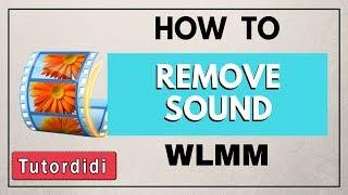 Remove Sound From Video | Windows Live Movie Maker
