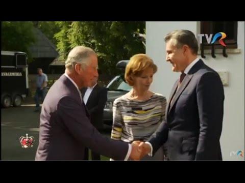 Prinţul Charles, oaspetele Familiei Regale a României