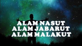 ALAM NASUT, JABARUT & MALAKUT