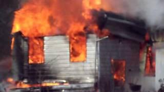 Fire Destroys Historic Hodunk Mill