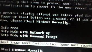 Windows XP boot problem
