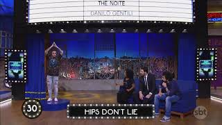 Shakira: J Balvin bailando Hips Don't Lie no Brasil