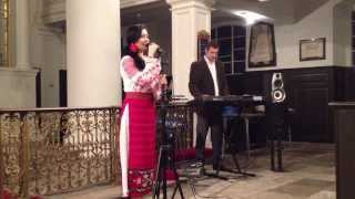 "LIVIA CONSTANTINESCU - ""CIOBANAS CU 300 DE OI""- London concert, 2/03/2014"