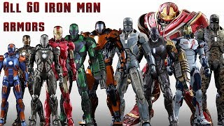 All 60 Iron Man Suits and Armors