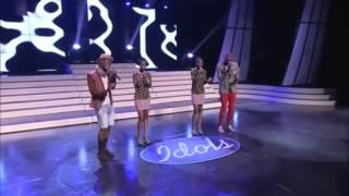Idols SA group performance with twins