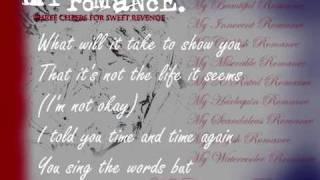 My Chemical Romance - I'm Not Okay (I Promise) (lyrics)