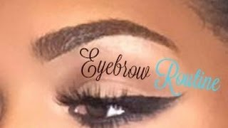EYEBROW ROUTINE - Natural Edition | Miss Florence