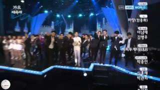 [VID] 141226 KBS Gayodaechukje - Ending