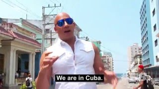 Official Fast And The Furious 8 Scenes in Cuba