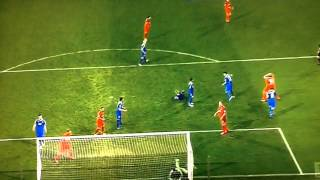 Gol Fantasma Bayern Levercusen al Hoffenheim marcado por Stefan Kiessling Liga Alemana