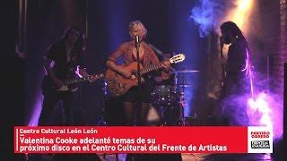 Valentina Cooke & Lobos adelantó temas de su próximo disco // Centro Cultural León León