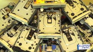 Star Wars - Darth Vader's Imperial March Played on 22 Floppy Drives