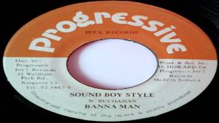 Banana Man - Sound Boy Style