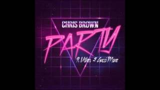 Party Chris Brown ft Usher & Gucci mane Slowed