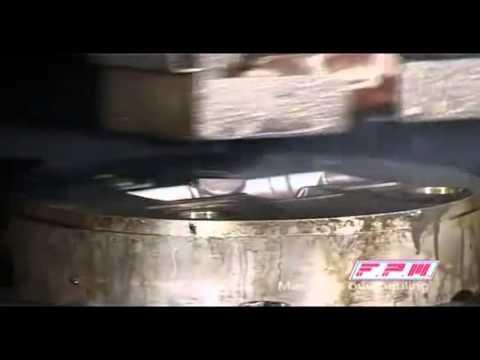 Friksiyon Presle Sıcak Pirinç Dövme - Dimas Makine - FPM Grup