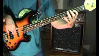 Van Morrison - Brown Eyed Girl - Bass Cover