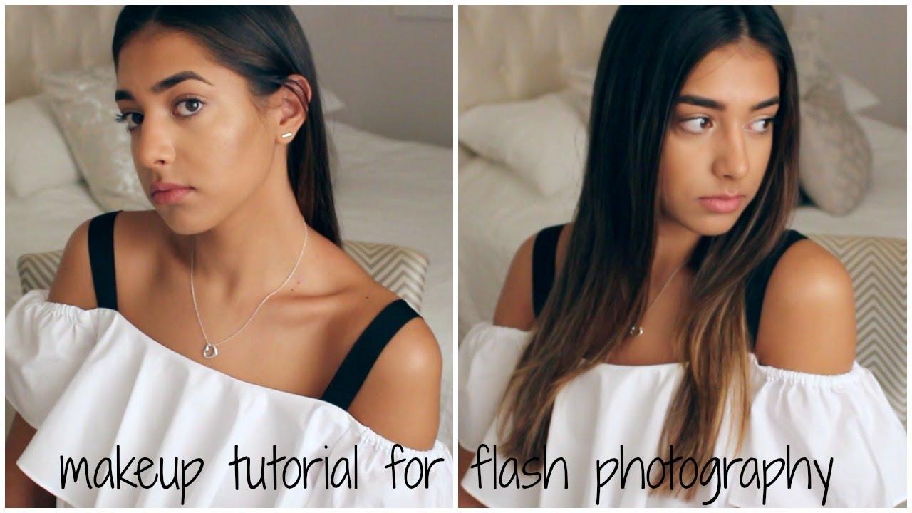 In-Depth Senior Portrait Makeup Tutorial For Flash Photos || Eliana Jalali