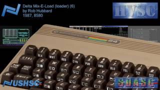 Delta Mix-E-Load (loader) (6) - Rob Hubbard - (1987) - C64 chiptune