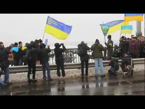 Ukraine Holds Its Ninety-third Unity Celebration