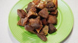 How To Make Haitian Griot (Fried Pork)