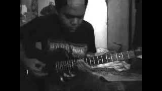 """Antagonist A.D. """"I'm not there"""" Guitar Cover"""