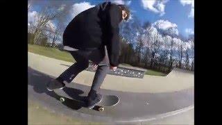 Jake skateboarding