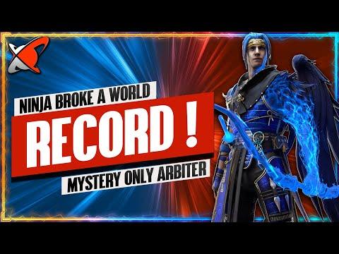 NINJA BROKE A WORLD RECORD!! | Mystery Shards Only F2P Arbiter Challenge | RAID: Shadow Legends
