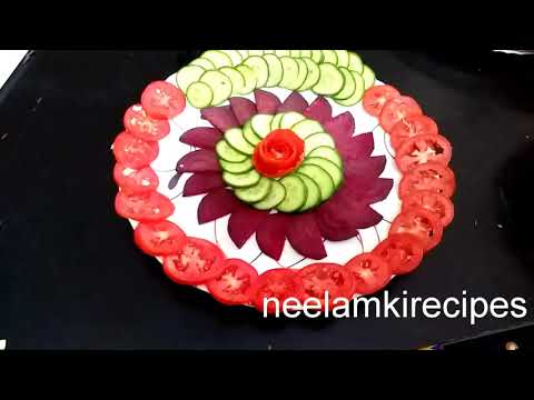 Download Thumbnail For Very Simple Unique Salad Decoration Ideas
