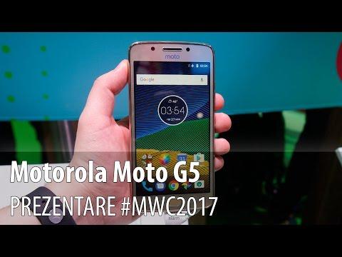 Motorola Moto G5 - Prezentare hands-on