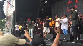 JME feat Giggs - Man Don't Care at Wireless 10. 28th June 2015 - Finsbury Park