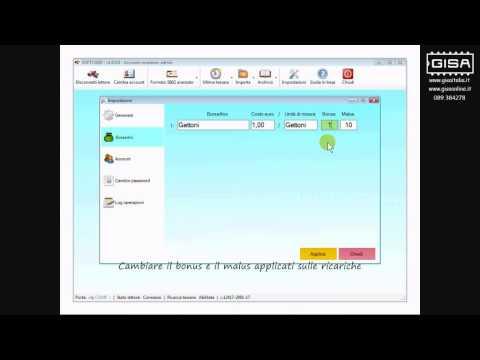SOFTCARD - Definire i parametri del borsellino