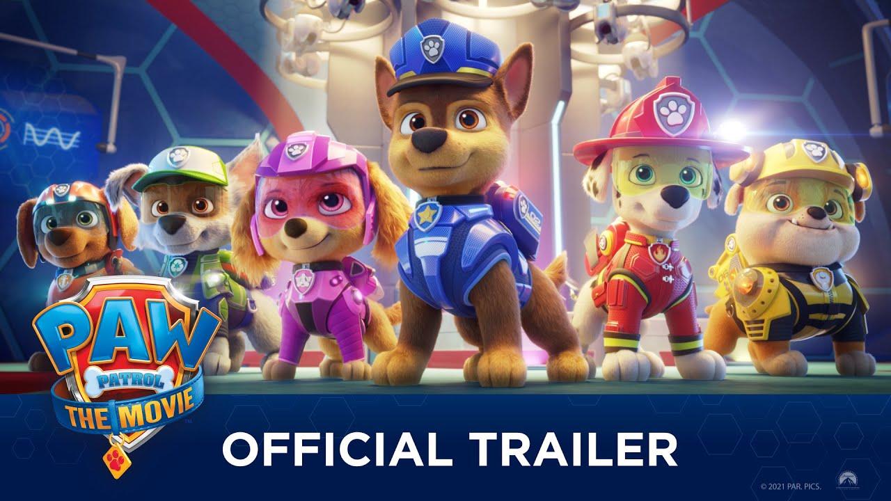 PAW Patrol: The Movie Trailer thumbnail