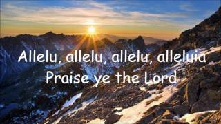 Praise Ye the Lord - Cover with Lyrics.