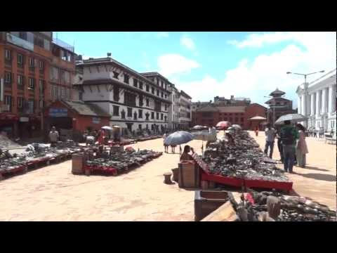 Kathmandu: A look around Durbar Square, Kathmandu Nepal, Sept 2012.