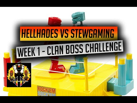 RAID: Shadow Legends | HellHades Vs StewGaming weekly challenge, Week 1! CB, no counter, only Epics!
