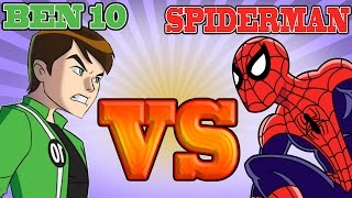 Ben 10 VS Spiderman