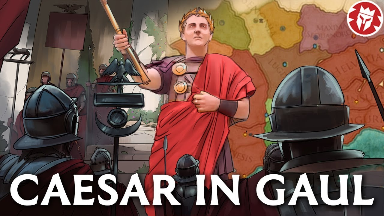 Caesar in Gaul - Roman History -Documentary